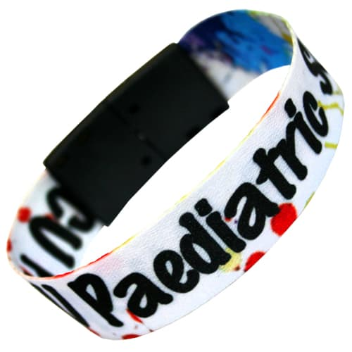 Promotional 20mm Reusable Wristbands for Events