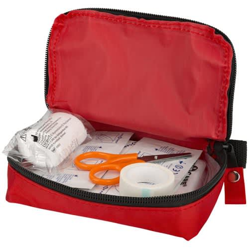 20 Pcs First Aid Kit in Red