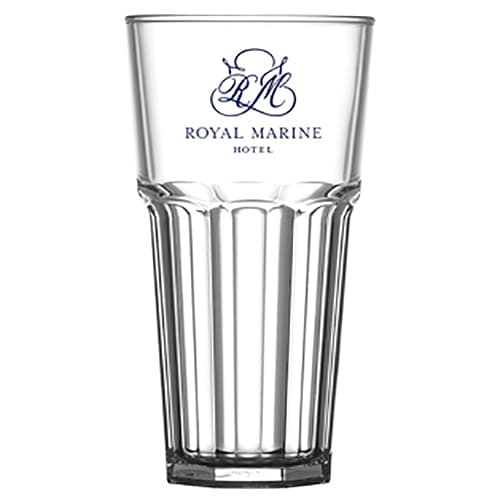Branded Polycarbonate Remedy Glasses for Event Marketing