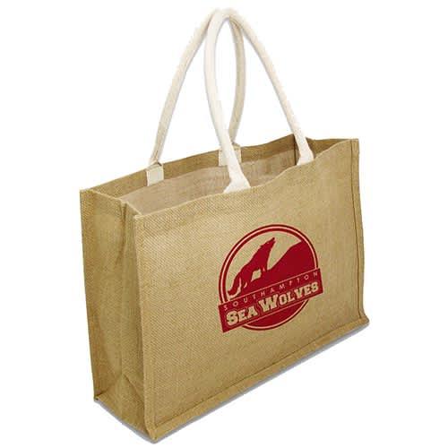Biodegradable Large Jute Shopper Bag