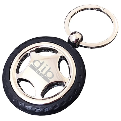 Promotional Wheel Keyrings are merchandise gifts