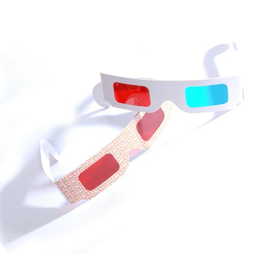These promotional 3D glasses are ideal for helping your customers enjoy movies and TV shows in 3D.