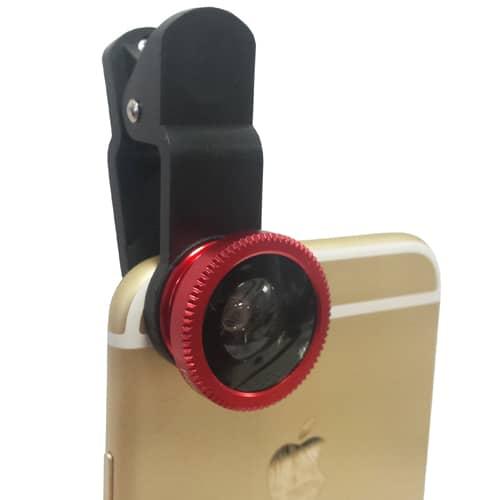 3 in 1 Fish Eye Phone Lenses