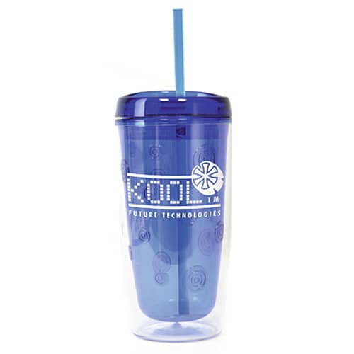 Personalised 450ml Double Walled Plastic Tumblers for Event Merchandise