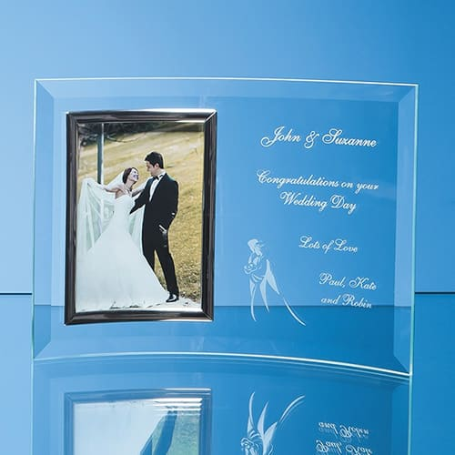 4 x 6 Bevelled Glass Crescent Frames