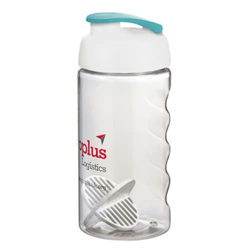 Take your pick from a wide range of colours for the lids & bottles with these promotional protein shaker bottles.