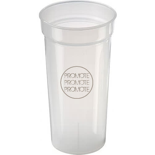 Promotional 500ml Unbreakable Plastic Cups for Events