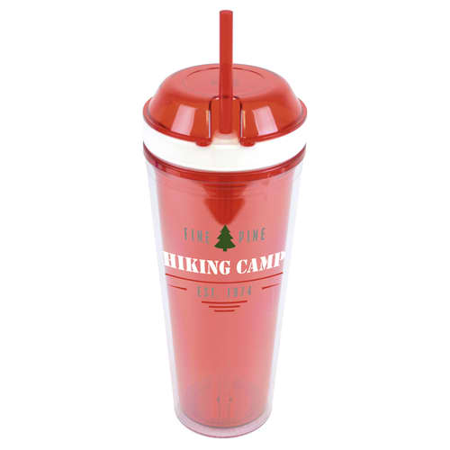 Personalised 550ml Snack and Sip Water Bottles for Business Gifts