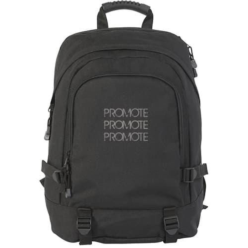 Faversham Laptop Backpack in Black