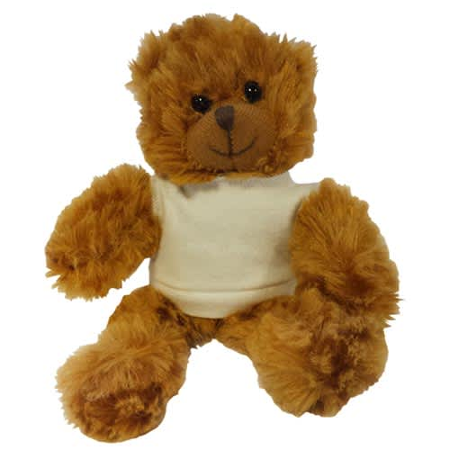 Promotional 5 Inch Jango Bear with T Shirt for giveaways