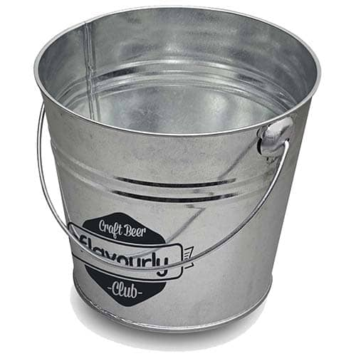 Branded 5 Litre Metal Buckets for Company Advertising
