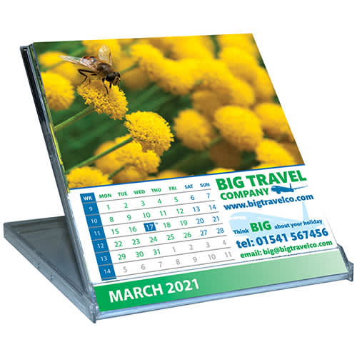 Promotional CD Case Calendars