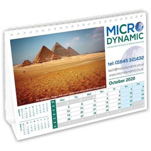 Promotional A5 Easel Calendars for offices