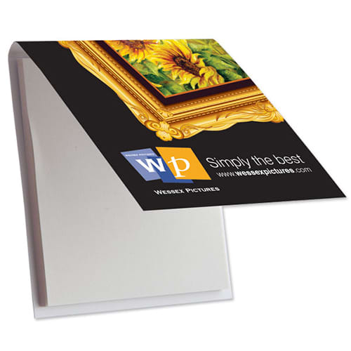 Sticky Note Pad with Printed Cover
