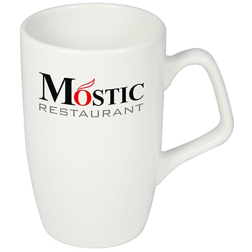 Corporate Mugs in White