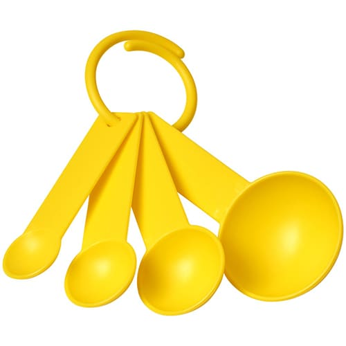 Measuring Spoon Sets in Yellow