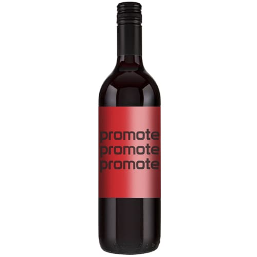 Promotional 75cl Shiraz Red Wine for Corporate Events