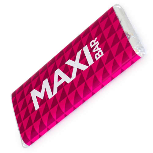 Promotional Maxi Chocolate Bars for Event Merchandise Ideas