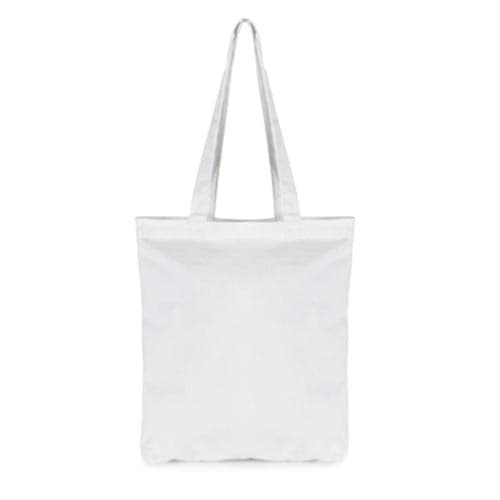 Promotional 7oz Zipped Shopper Bags printed with logo