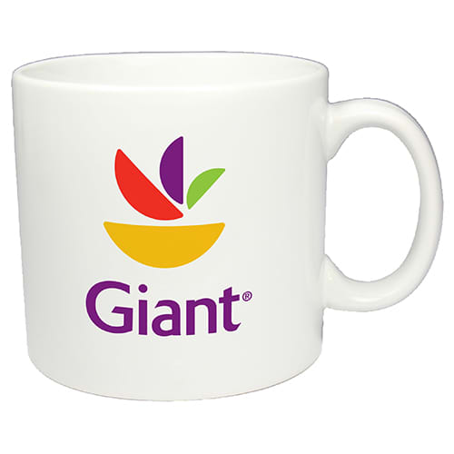 Promotional Pint Mugs custom branded for offices