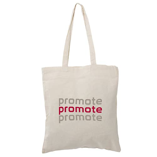 8oz Canvas Tote Bag in Natural