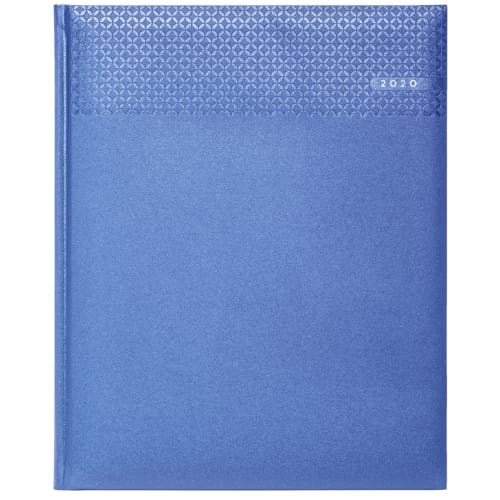 Promotional Quarto Matra Weekly Diary for offices Sky Blue