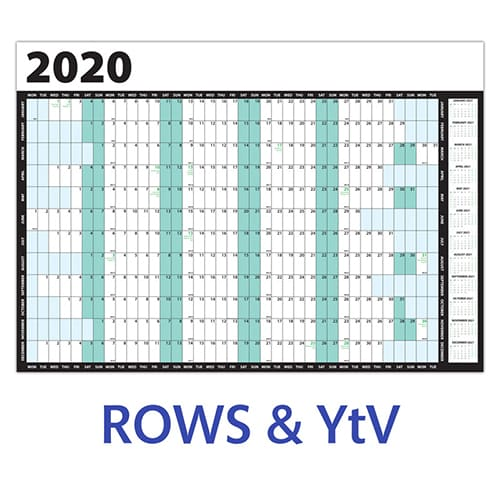 Promotional A2 Wall Planners