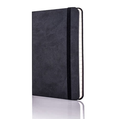 Tucson Flexible Ruled Pocket Notebook in Graphite