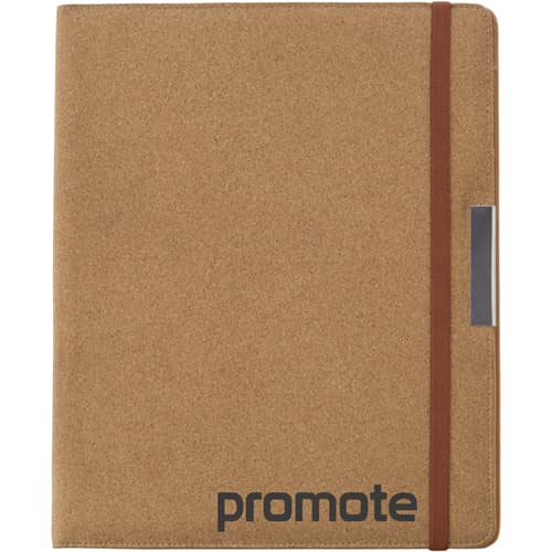 Personalised A4 Cork Portfolios for Conference Merchandise