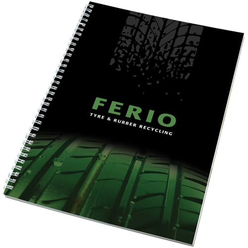 A4 Recycled Polypropylene Notepads