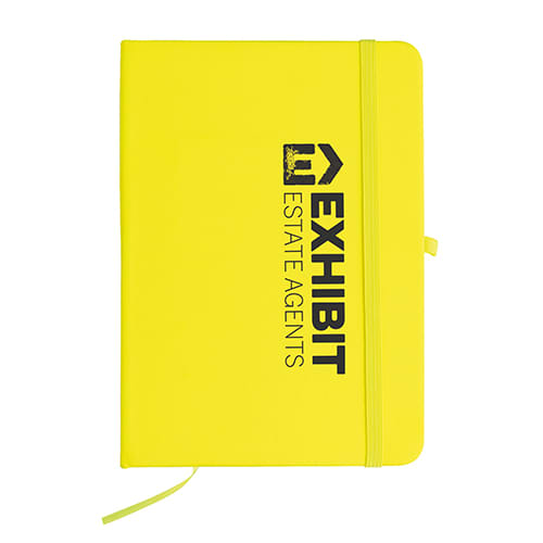 Promotional A5 Vibrant Notebooks for schools