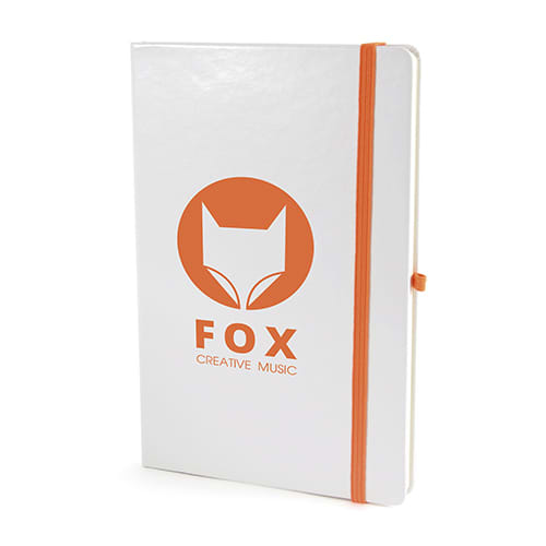 A5 White Soft Touch Notebooks