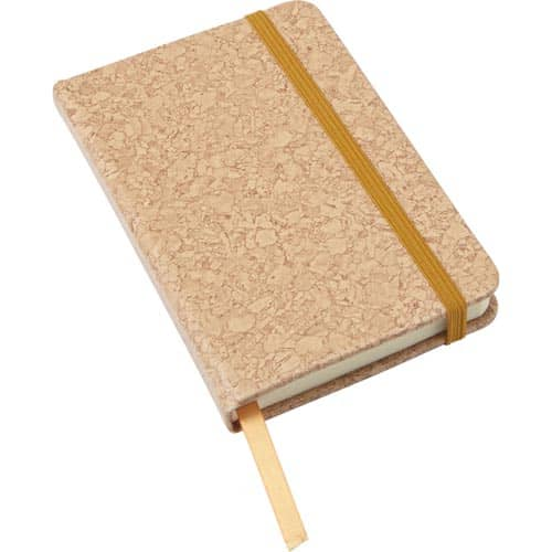 A6 Cork Print Notebooks