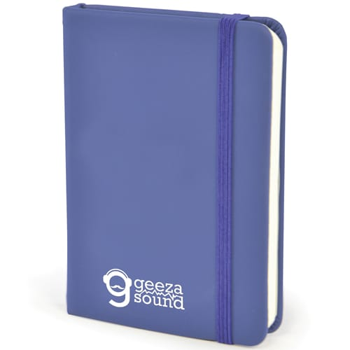 A7 Soft Touch PU Notebooks