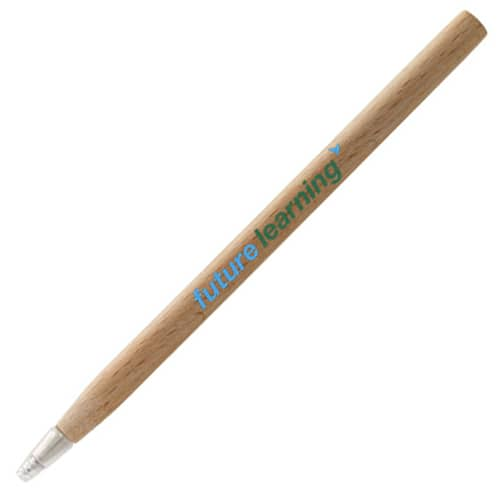 Arica Wood Ballpen Pens in Natural