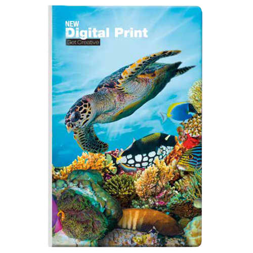 Bianco Tucson Full Colour Medium Notebooks in White
