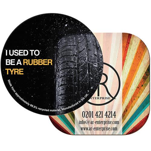 Brite Mat Tyre Coasters
