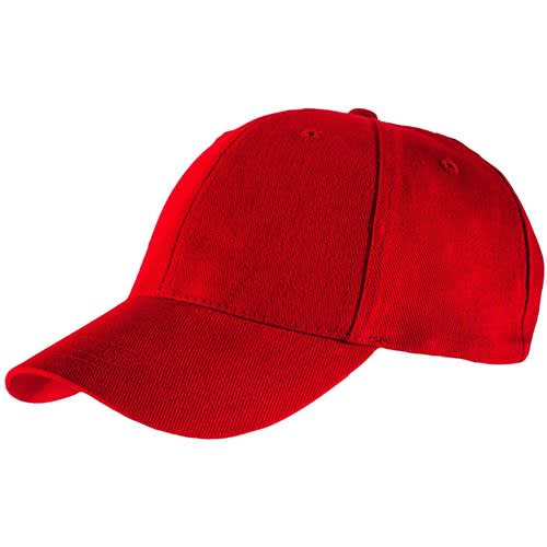 Customised Brushed Heavy Cotton Cap for events