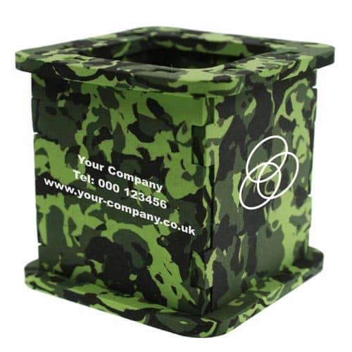 Camouflage Foam Pen Pots