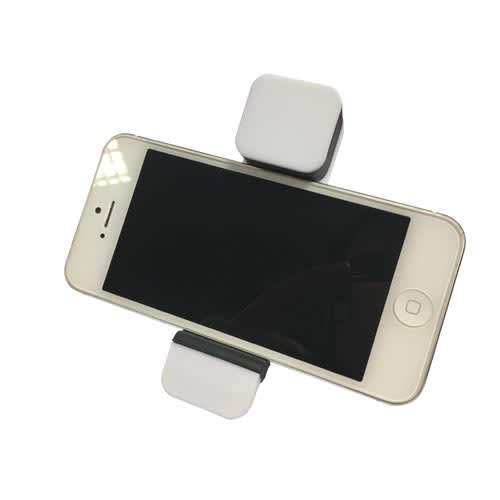 Car Vent Phone Holders in White