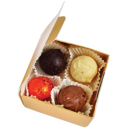 Promotional Chocolate Truffle Boxes for Business Gifts