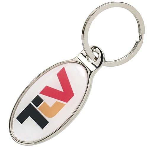 Promotional Corvus Metal Keyrings for Marketing Giveaways