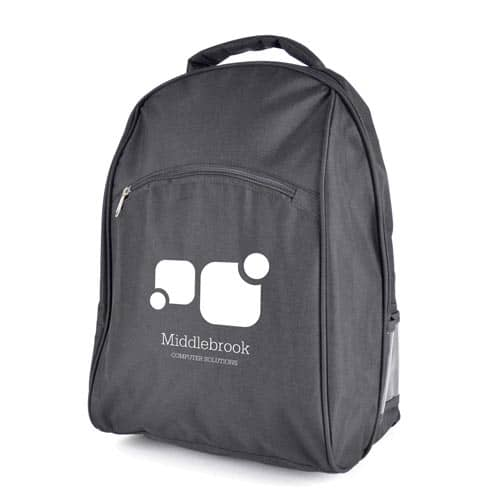 Promotional Branded Dereham Laptop Backpacks for schools