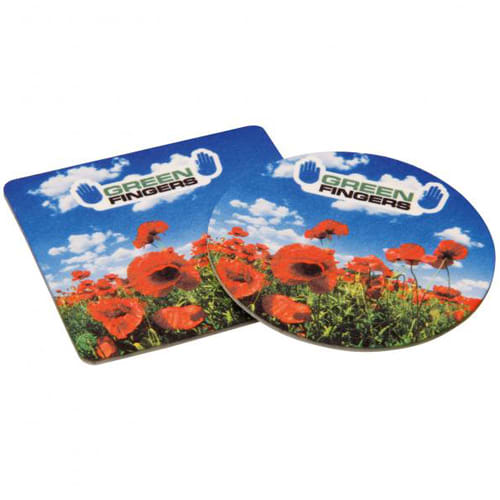 Promotional Double Sided Hard Felt Coasters for Giveaways