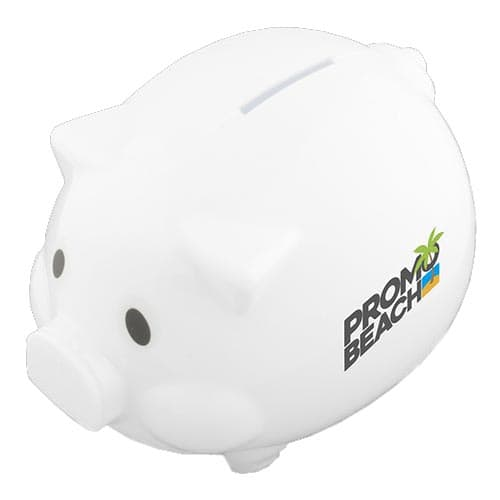 Promotional Express Piggy Banks for printing with company messages