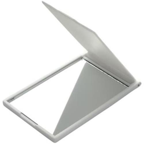 Folding Mirrors in White