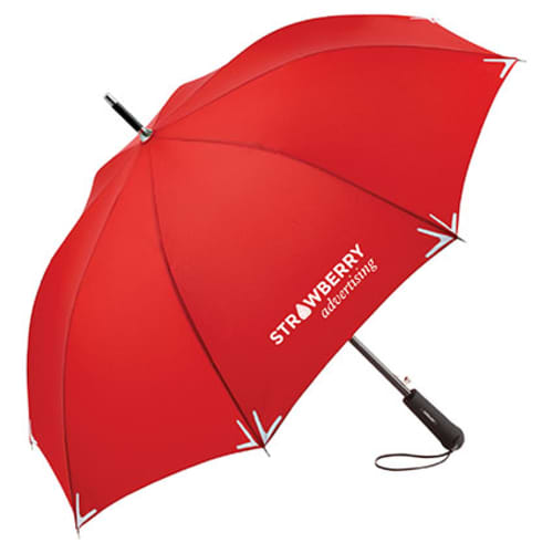 Promotional Fare Safebrella Automatic LED Umbrellas for Outdoor Gifts