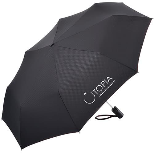 Fare Safety Telescopic Umbrellas in Black