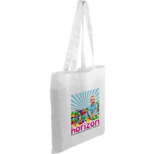 Full Colour Kingsbridge Cotton Tote Bags