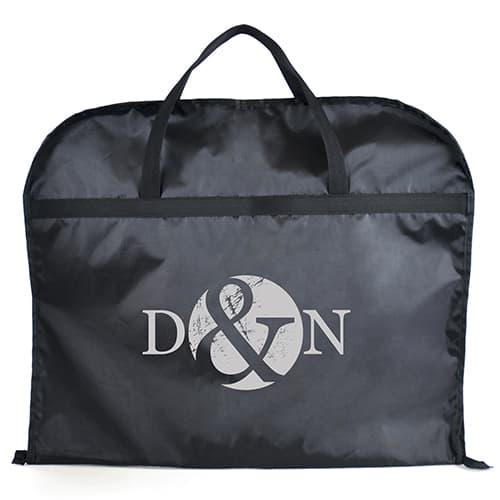 Promotional Garment Storage Bags printed with logo